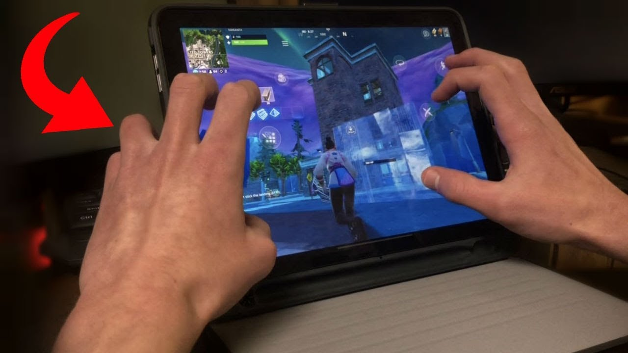 Six Finger Claw On Fortnite Mobile Youtube