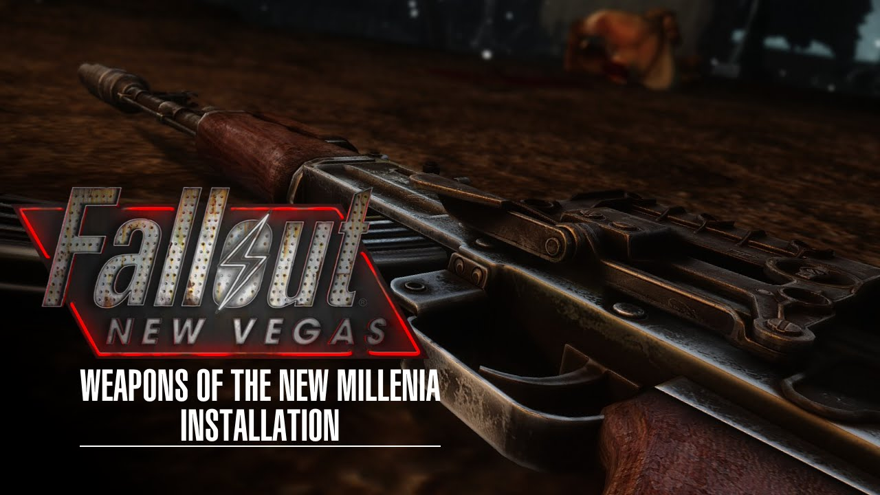Fallout New Vegas - Weapons of the New Millenia - Mod Organizer ...