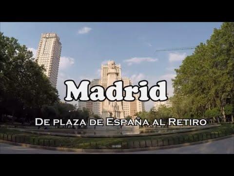 MADRID (1/3) Plaza España, Gran Via, Callao, Cibeles y retiro