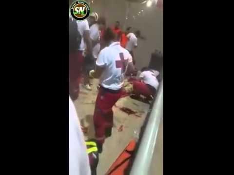 Bayern fans beaten by Greek police— Bavarian Blood