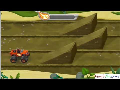 Вспыш и Чудо-Машинки Вспыш Спасает Друзей Blaze & Monster Machines Blaze Rescue Race