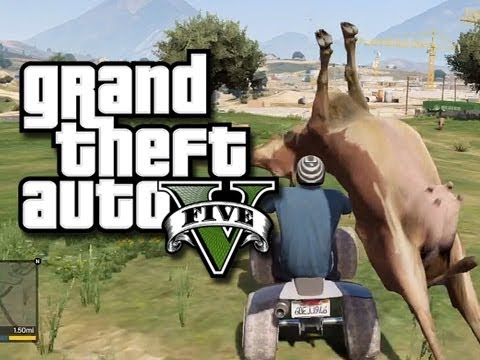 GTA 5 Funny and Random Gameplay Moments! - Jump Spots, Cheats, and Fails! (GTA V Gameplay) from YouTube · Duration:  4 minutes 7 seconds