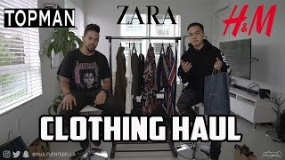 CLOTHING HAUL: TOPMAN, ZARA, H&M, Nordstrom, Mnml.la