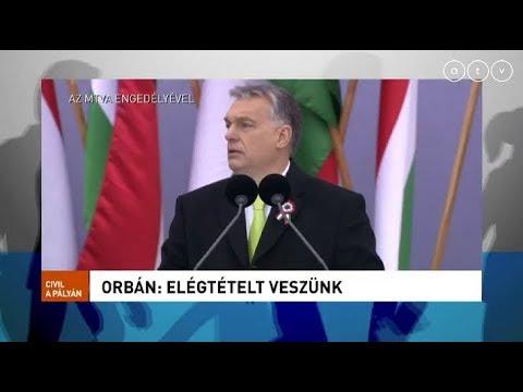 Orbán: Elégtételt veszünk!