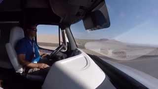 Freightliner Inspiration Autonomous Truck Ride Along