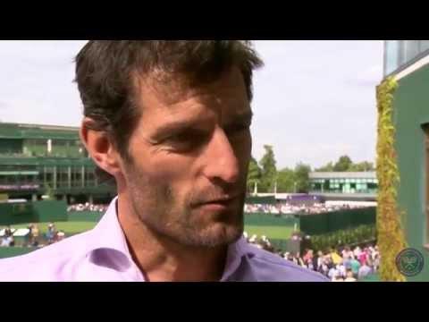 Mark Webber Live @ Wimbledon Interview