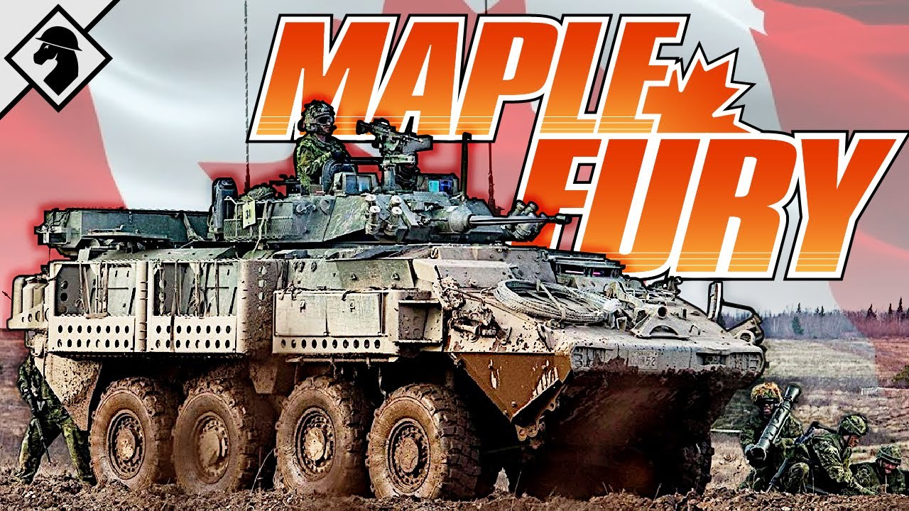 Maple Fury: Canada's Mechanized Infantry Company | Organization