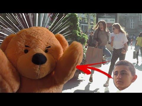 !!  !!   Scare !!! teddy bear prank