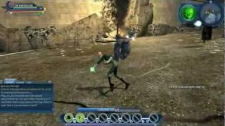 DC Universe Online (PC) - Green Lantern DLC Powers Gameplay [HD]