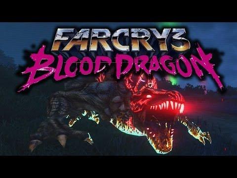 Far Cry 3: Blood Dragon Funny Moments (Killing the Rare Blood Dragon, EVIL TURTLES +More)