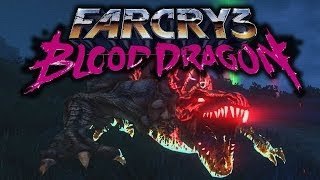 Far Cry 3: Blood Dragon Funny Moments (Killing the Rare Blood Dragon, EVIL TURTLES +More)