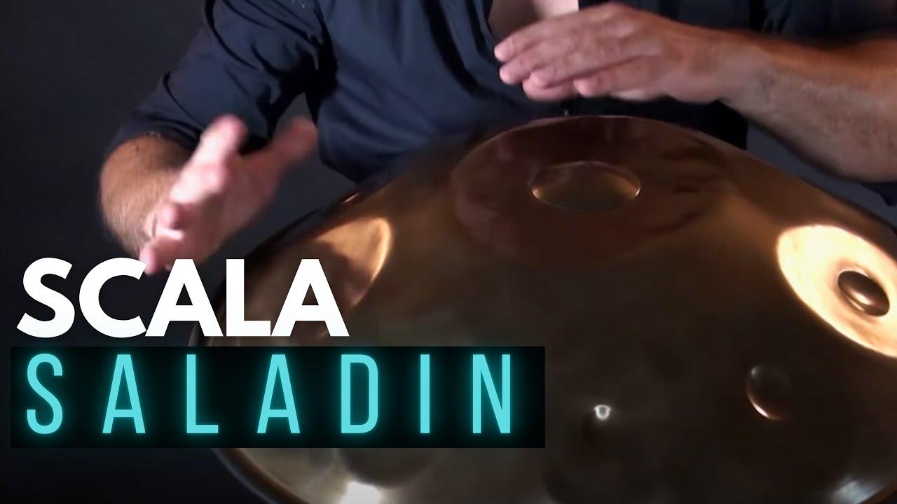 LOMBARDO handpan - Saladin scale