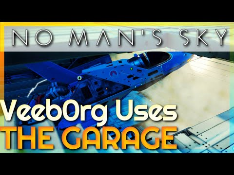Veeb0rg Uses The Garage   4K   No Man's Sky #15