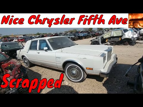 1988 Chrysler Fifth Avenue Junkyard Find