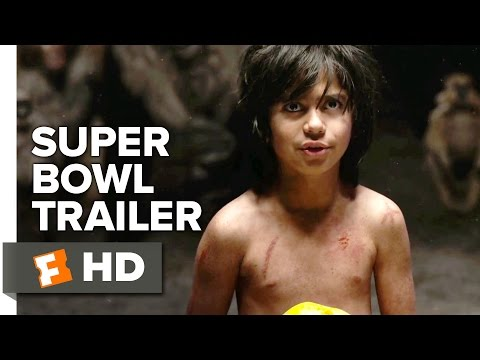 The Jungle Book Super Bowl TRAILER 1 (2016) - Idris Elba, Scarlett Johansson Movie HD