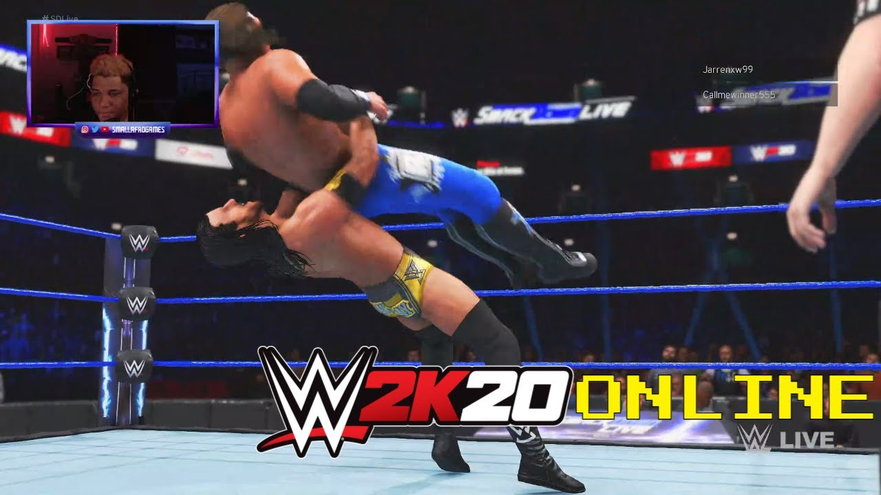 WWE 2K20 Online - THIS GUY HAS TO BE CHEATING