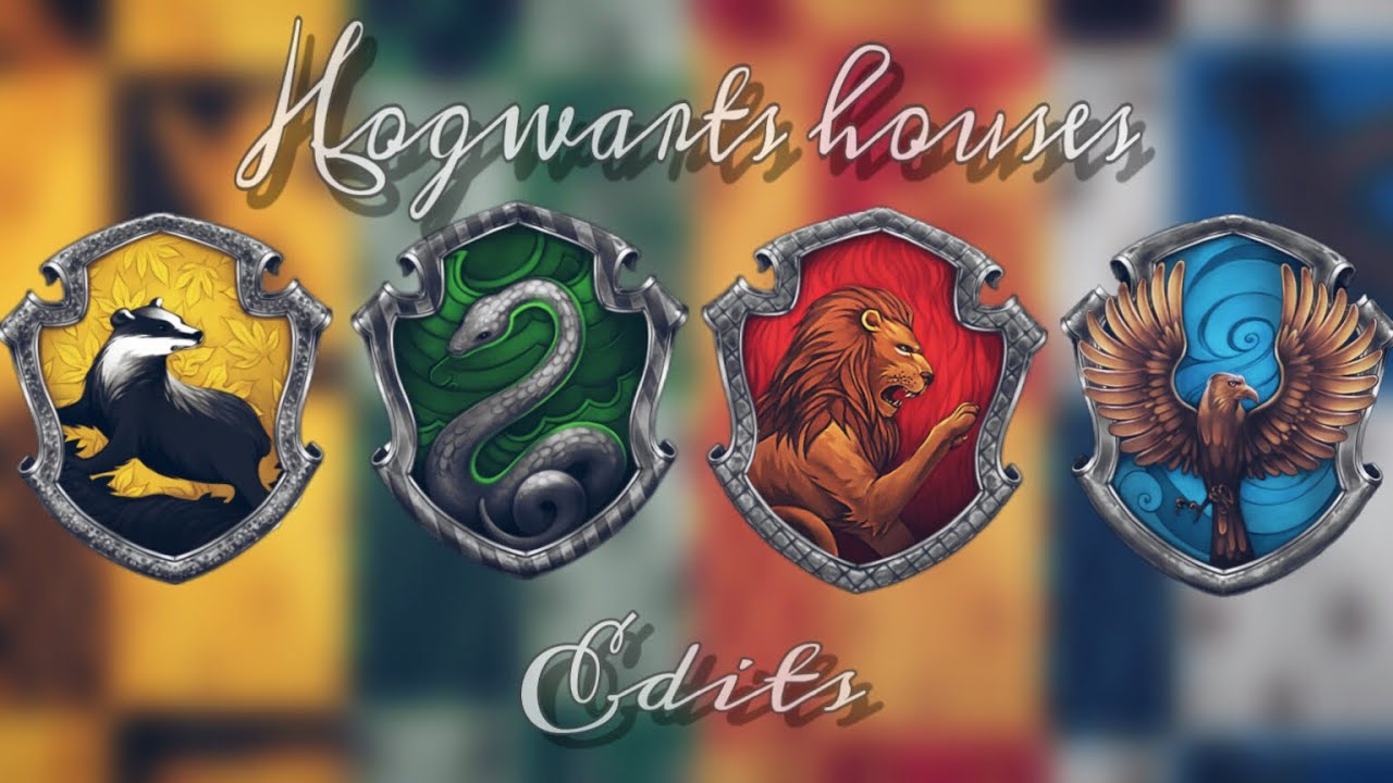 harry potter hogwarts houses edits  youtube