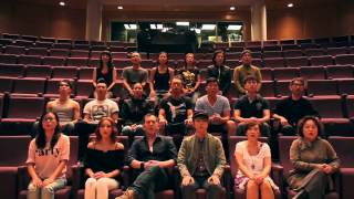 Do you hear theatre people (Hong Kong) sing?