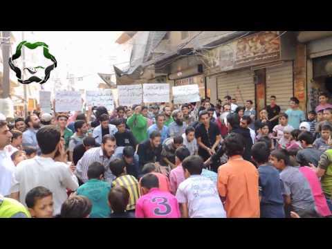 حلب السكري مظاهرة جمعة شكرا تركيا 4 10 2013 جـ 2