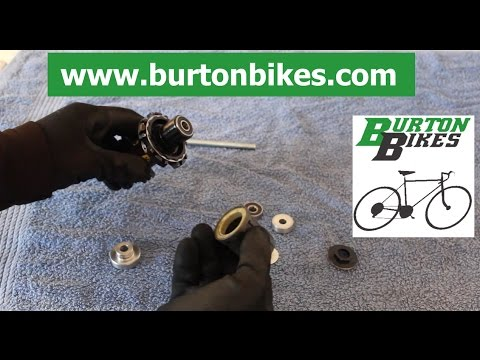 Burton Bikes Mavic wheel hub bearing replacement