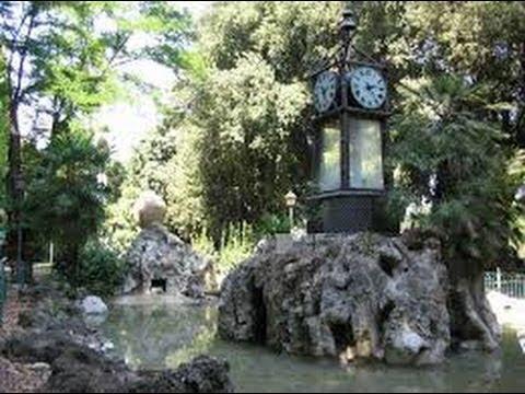 Orologio ad acqua idrocronometro villa borghese roma youtube