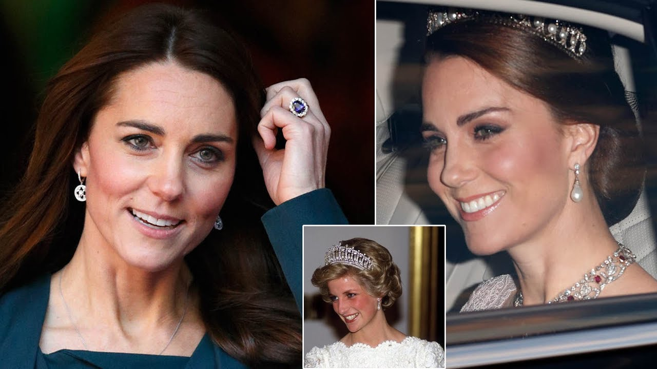 Kate Middletons jewellery collection inspired by Princess Diana