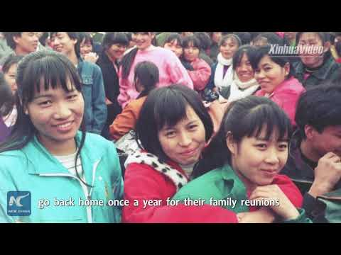 40 years of change for China's Spring Festival travel rush