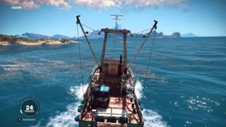 Just Cause 3 (More or less) Successful Boat Taxi