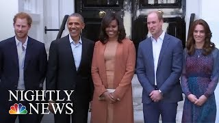 Barack Obama Tells Prince Harry How He Felt After Leaving Office | NBC Nightly News