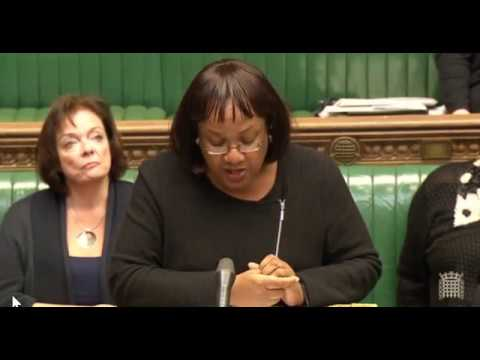 Diane in Parliament | Challenging Home Secretary Amber Rudd on  Sexual abuse