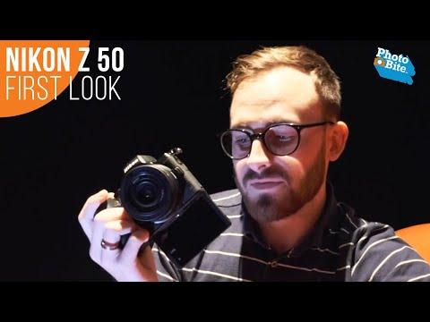 Nikon Z 50: First Look at Nikon's New Mirrorless Camera
