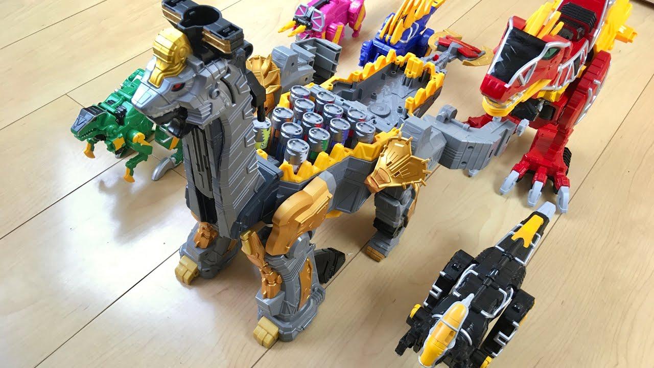 【DX PR Dino Charge #5】集めるのムズすぎ⁉︎ ギガントブラギオーで遊んでみた