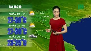VTC14 | Thời tiết 12h 23/01/2018 | Thời tiết miền Bắc sẽ có sự chuyển biến mạnh mẽ từ ngày 26 thumbnail