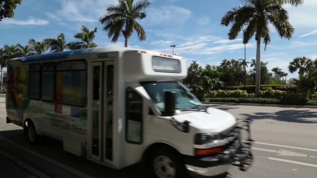 Community Mini Bus Service | Hallandale Beach, FL - Official