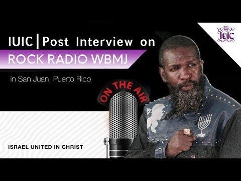 IUIC | POST INTERVIEW ON ROCK RADIO WBMJ | SAN JUAN, PUERTO RICO