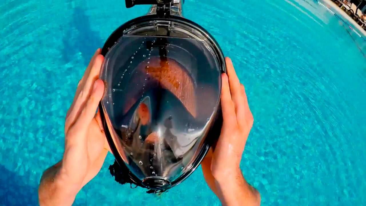 0cf033b097a2 Test Swimming Full Face Mask Surface Underwater Diving Snorkel Scuba Swim  Anti Fog