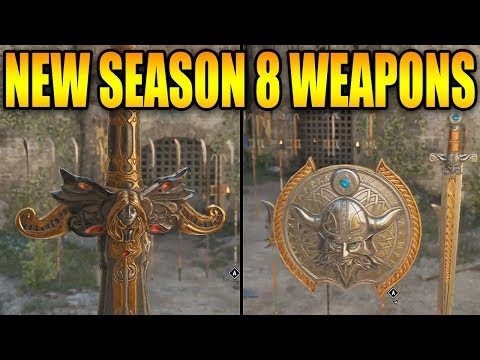 For Honor: NEW SEASON 8 WEAPONS! NEW EXECUTIONS SEASON 8! SEASON 9 TEASER 2019! HEAVY CHARACTERS?