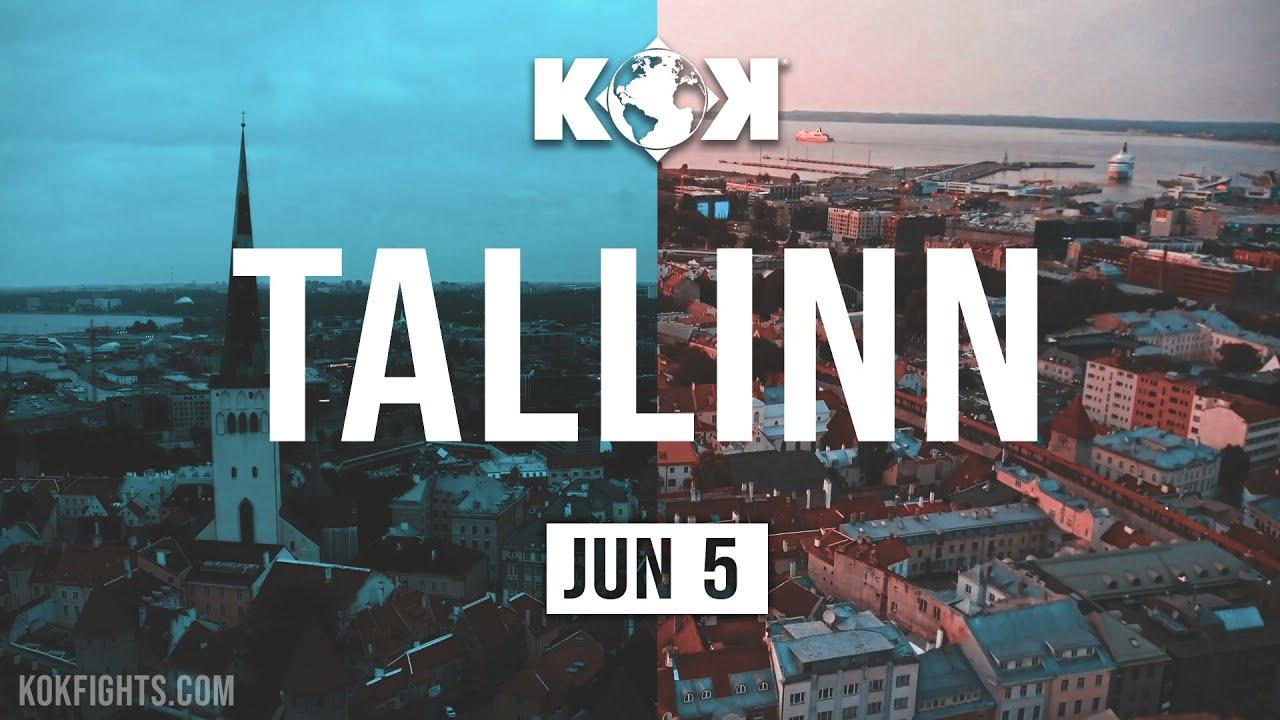 KOK WORLD CHAMPIONSHIP 05.06.2021 IN TALLINN / LIVE on KOKFIGHTS.TV