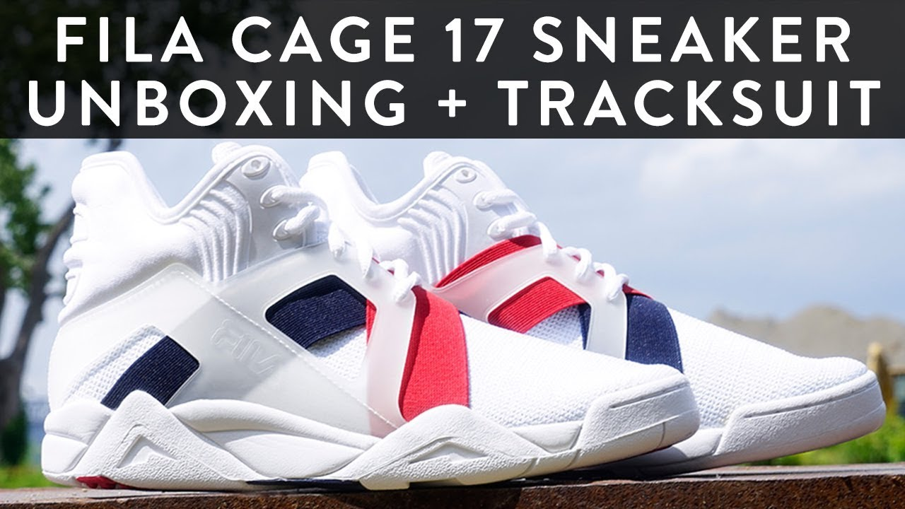 Fila Cage 17 + Tracksuit | Tower London | Sneaker Unboxing | The New  Collections | llomotes