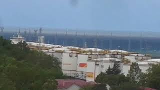 Смотреть видео Чёрная Вода В Чёрном Море. Море Чёрного Цвета Когда Бывает? онлайн