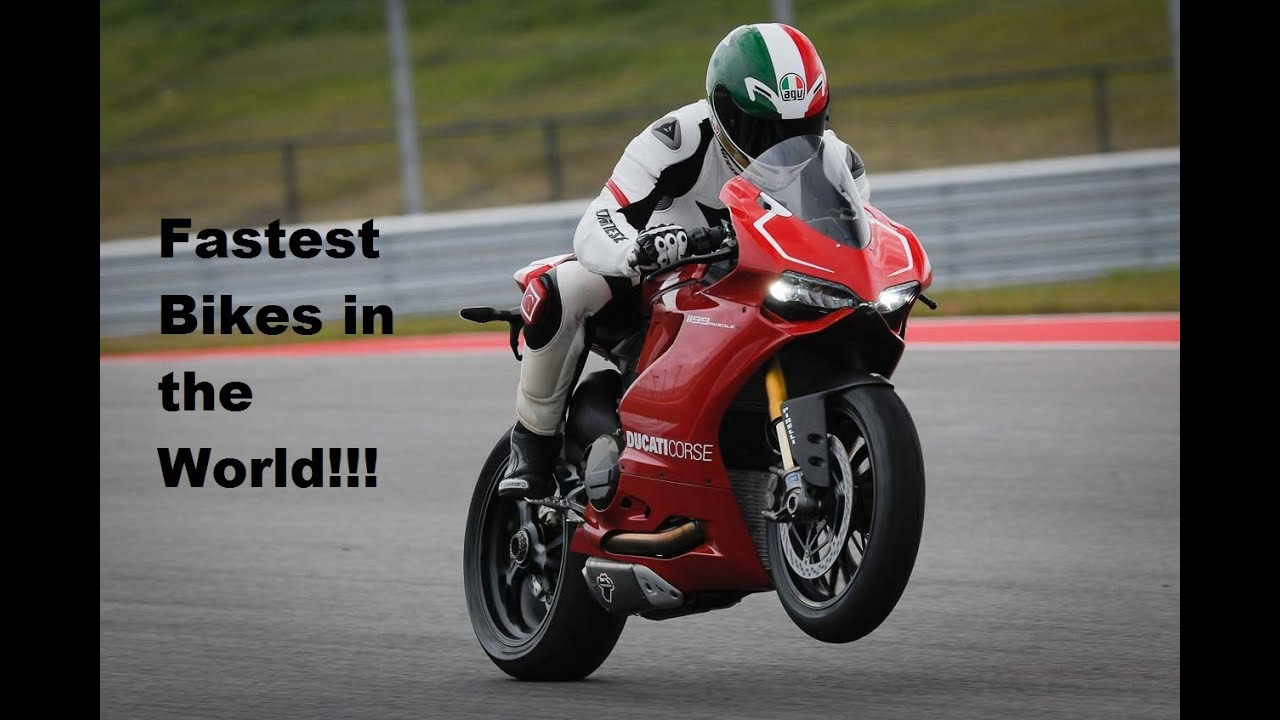 Top 6 Fastest Bikes In The World Yamaha R1 Bmw S1000rr