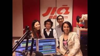 新加坡883FM电台专访 陈锐斐