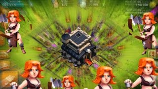 CLASH OF CLANS TH9 Mass Valkyries War 3 STAR strategies to be Known | COC | Valkyries 3 STAR 🌟🌟🌟