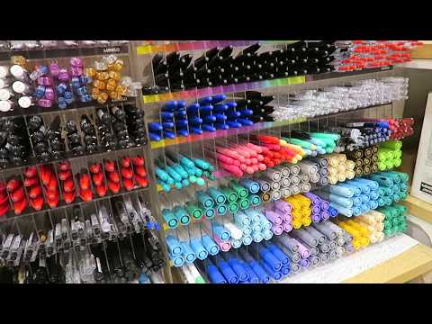 shopping for asian stationery!