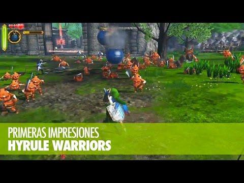 PRIMERAS IMPRESIONES - Hyrule Warriors (Wii U)