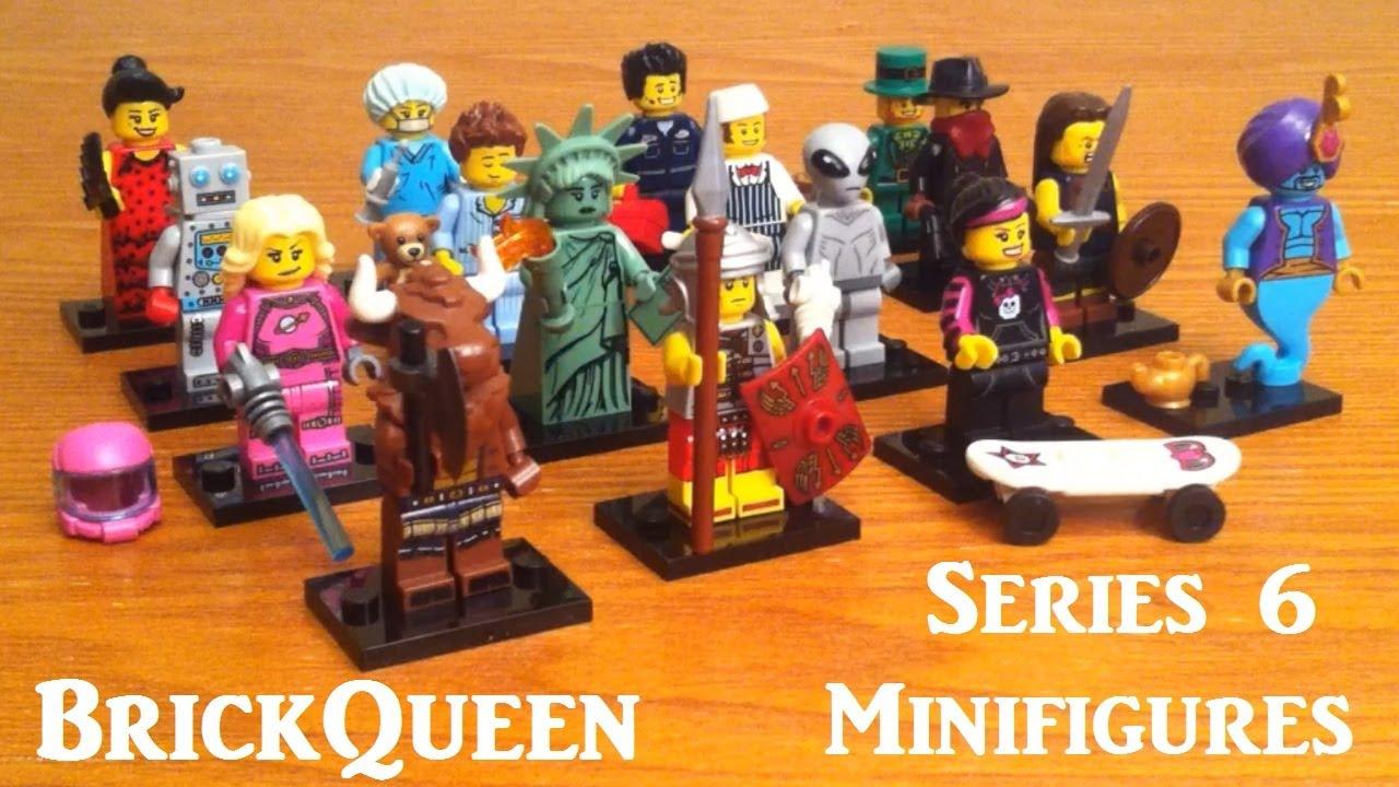 LEGO 8827 Mini Figure Collection Series 6 Lady Liberty Mini Figure