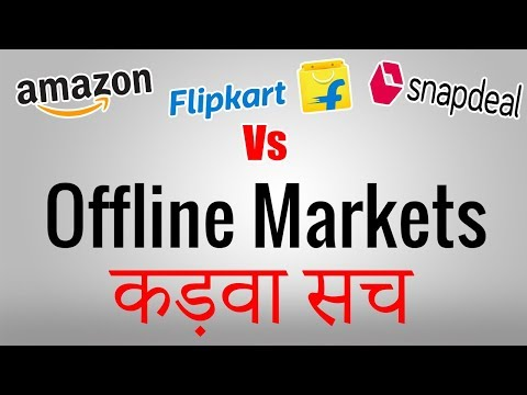ONLINE VS OFFLINE SHOPPING | Comparison | Shopping Guide by Technical Amit - 2017