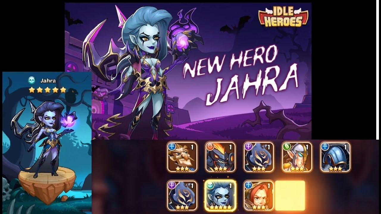 Idle Heroes (PS) - Summon Event #gotNewHero Jahra in first