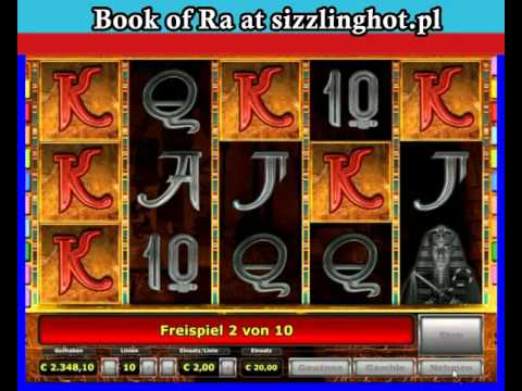 book of ra slot machine tips