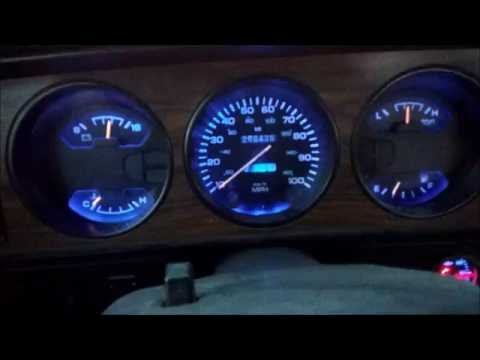 dash lights updated on my 1st Gen Dodge Cummins 12 Valve.